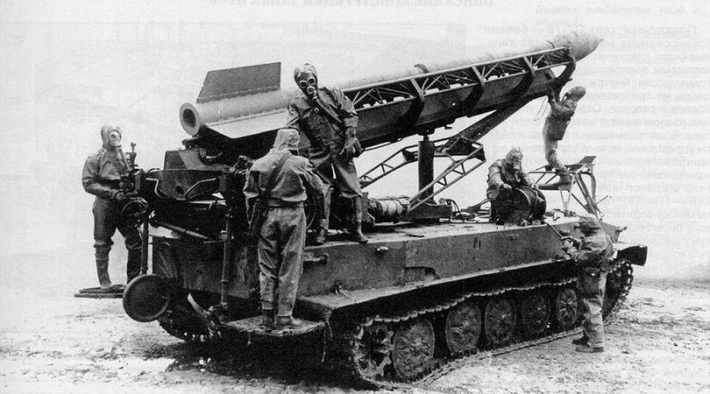 20 марта 1958 г. Принят первый тактический ракетный комплекс с ядерной боевой