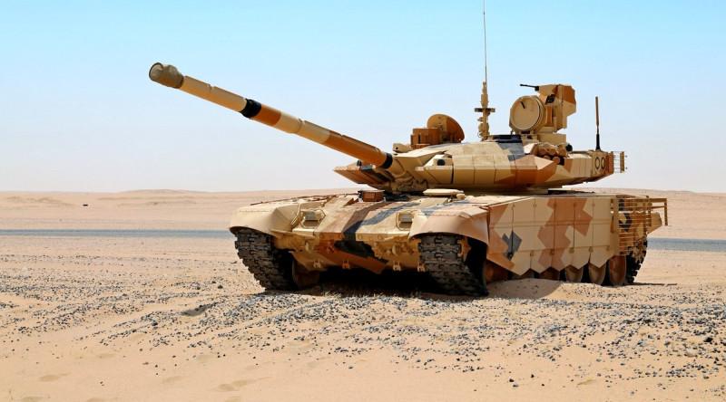ВС Индии примут на вооружение 460 танков Т-90МС в 2022-2026 годы