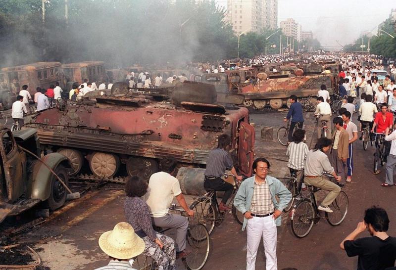 30 лет событиям на площади Тяньаньмэнь.
