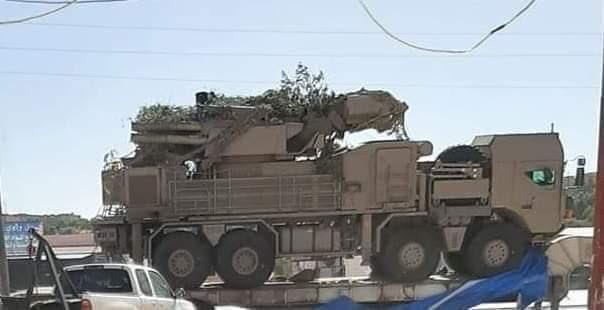 В Ливии замечены «Панцири»