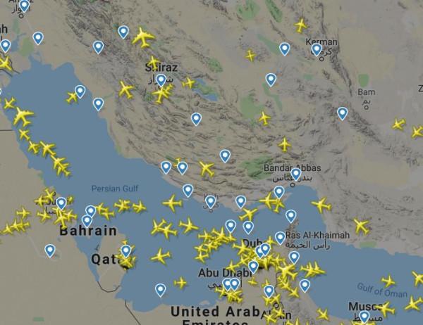 Опять штормит Персидский залив