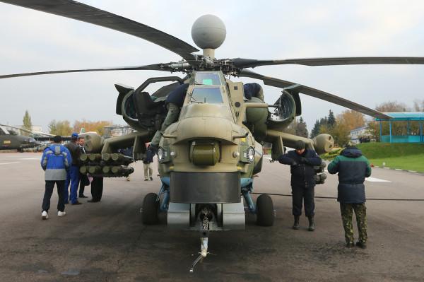 Минобороны подписало контракт на 98 вертолетов Ми-28НМ