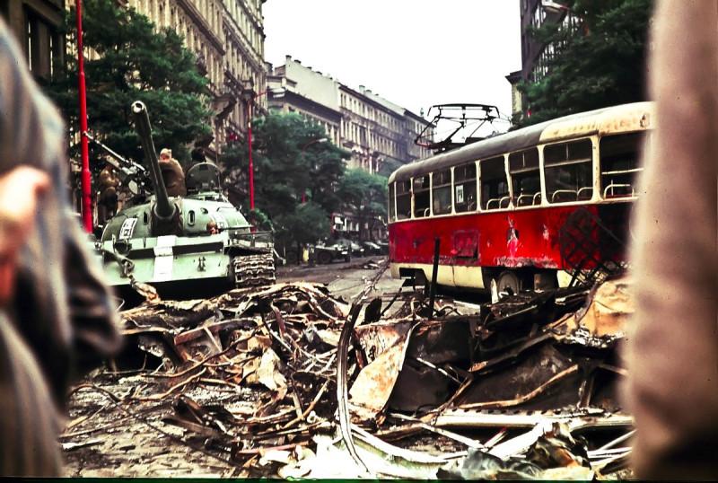 Ввод войск в Чехословакию. Операция «Дунай». 21 августа 1968