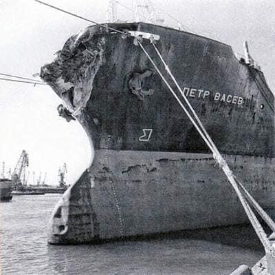 33 года назад. «Адмирал Нахимов».