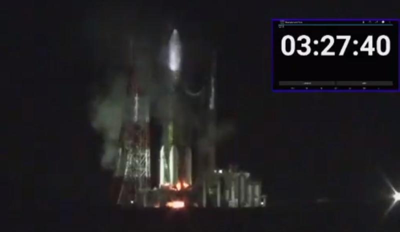 Запуск японского грузового корабля к МКС отменен из-за пожара на стартовой