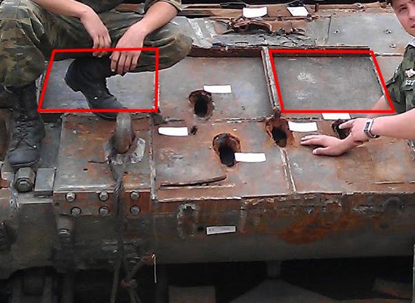 Т-90А-после-обстрела_россия