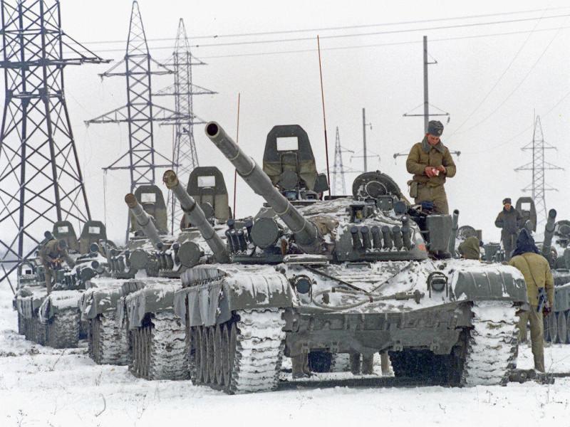 25 лет назад. Началась первая чеченская война