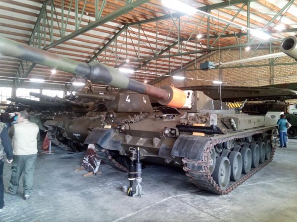 Panzer 68 с 140 мм пушкой