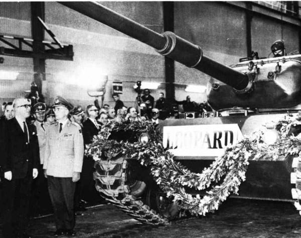 55 лет назад, 9 сентября 1965 г. Первый танк ФРГ