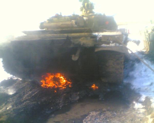 Т-72Б на учениях