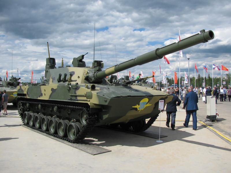 Испытания противотанковой пушки «Спрут-СДМ-1» начались под Псковом