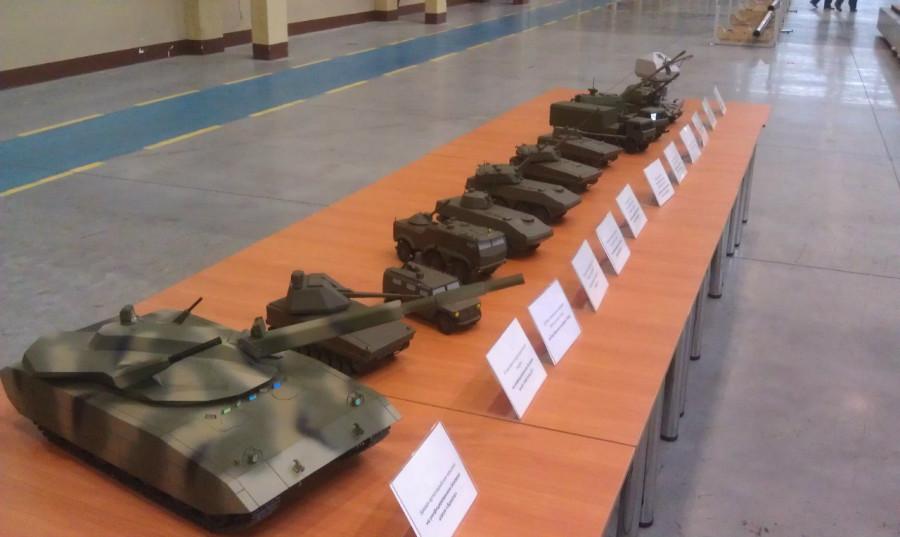 На выставке вооружений нижнем тагиле