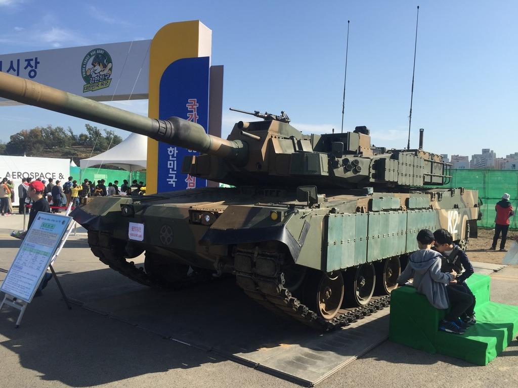 Подборка подробных фото корейского танка К2