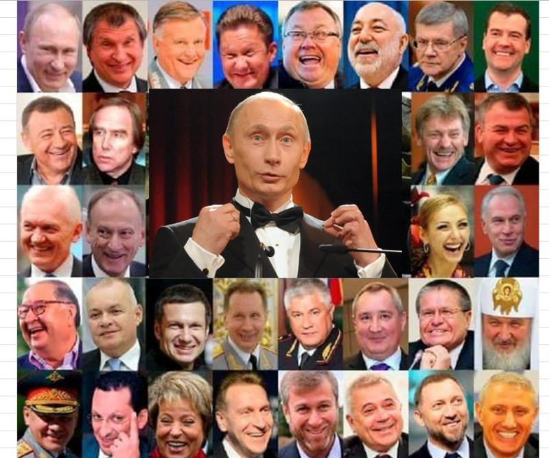 Совокупный доход путинской братвы почти полтриллиона долларов....ну и плюс бюджет страны