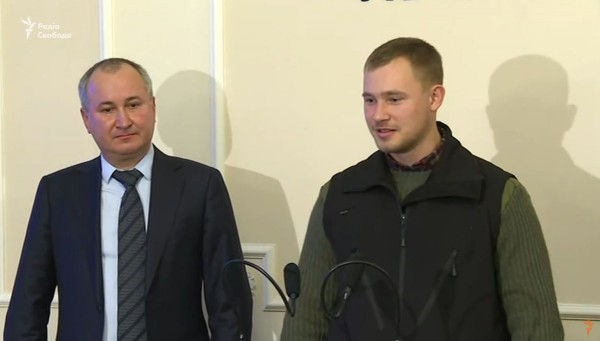 Спасенный экс-офицер ФСБ будет работать в пресс-службе СБУ