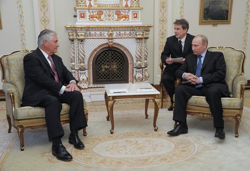 Тиллерсон все-таки  пообщался с  Путиным