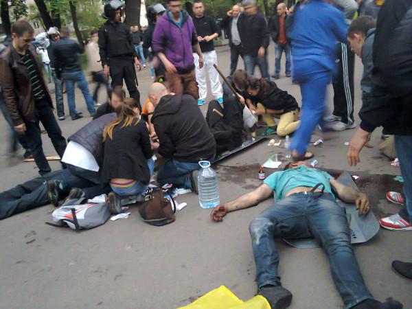 Одесса три года назад: бойню спровоцировали путинские рашисты