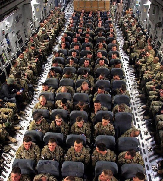 Ротация американских войск в Афганистане