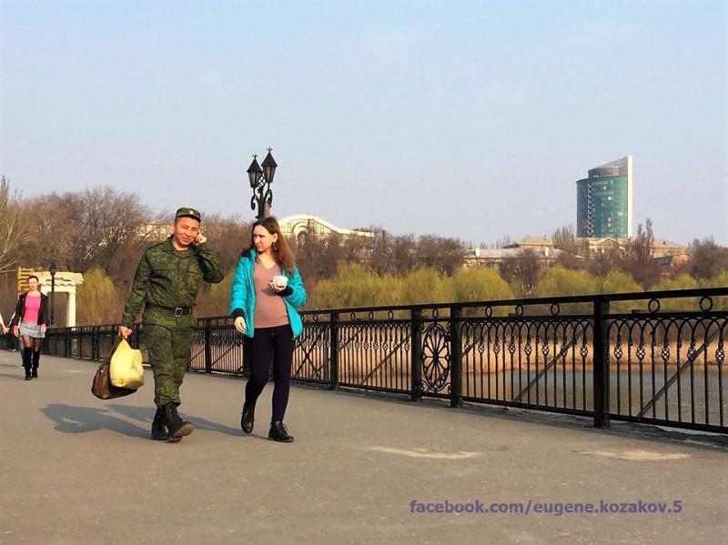 Мост в парк Щербакова