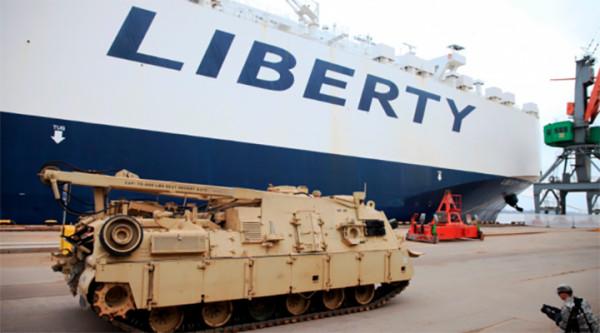 Америка наращивает военные силы в районах соприкосновения с РФ