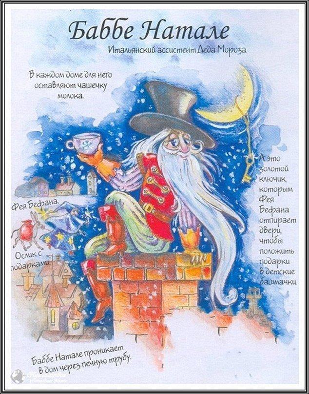 Новогодние открытки разных стран мира, картинки рисунки красивая