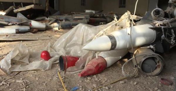 В Мосуле военные нашли российские ракеты с химическими боеголовками, принадлежащие ИГ