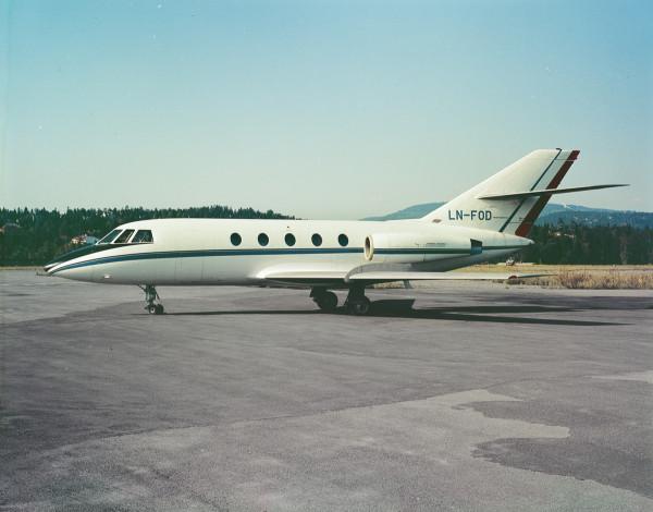01_Fred Olsen Falcon 20_ Oslo Airport, Fornebu_1970