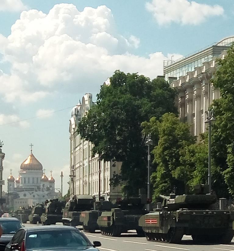 Военная техника с парада в Москве 24 июня 2020