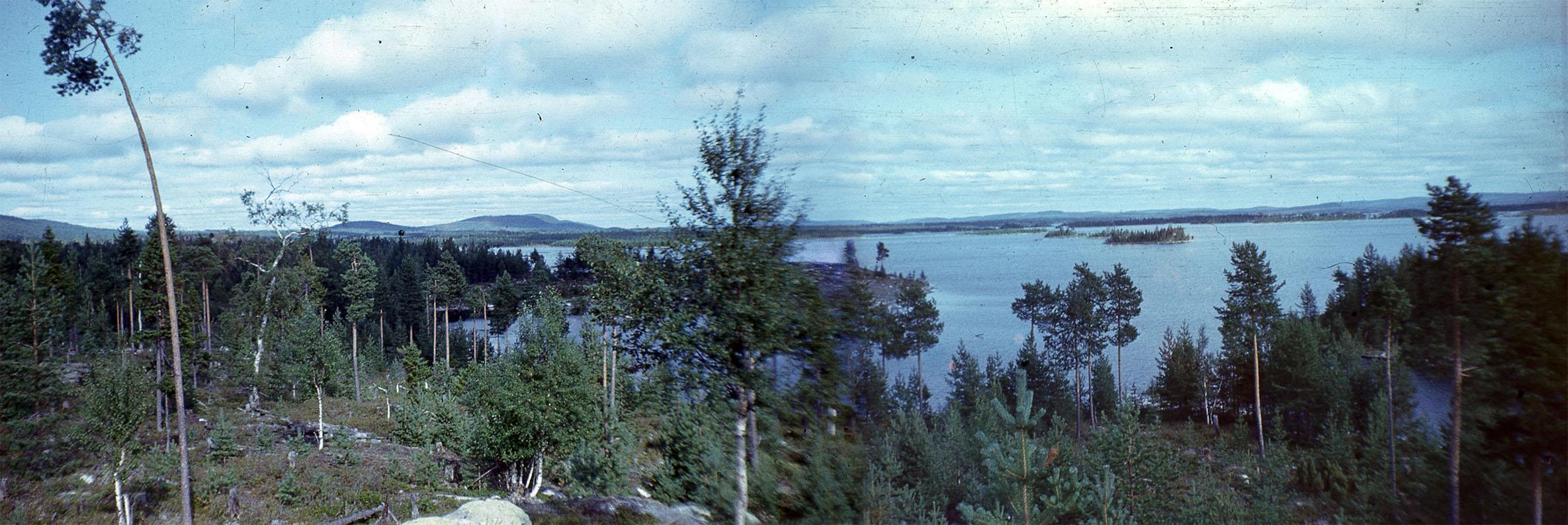 Mosha area panorama 1977
