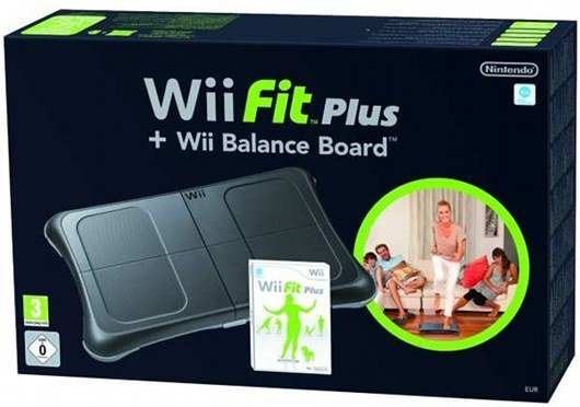 Bundle-Wii-Fit-Plus-Wii-Balance-Board-Black-for-Nintendo-Wii