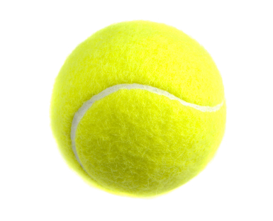 Что внутри теннисного мячика?