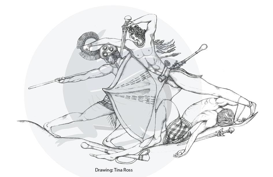 Боевой агат Пилоса - шедевр эпохи бронзы
