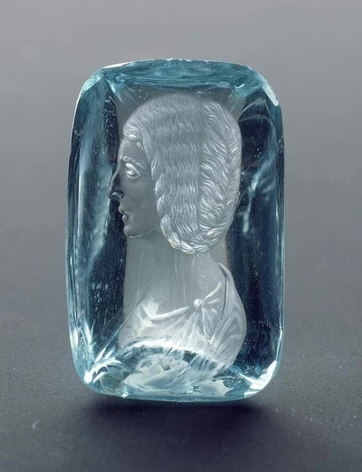 Портрет жены императора Септимия Севера