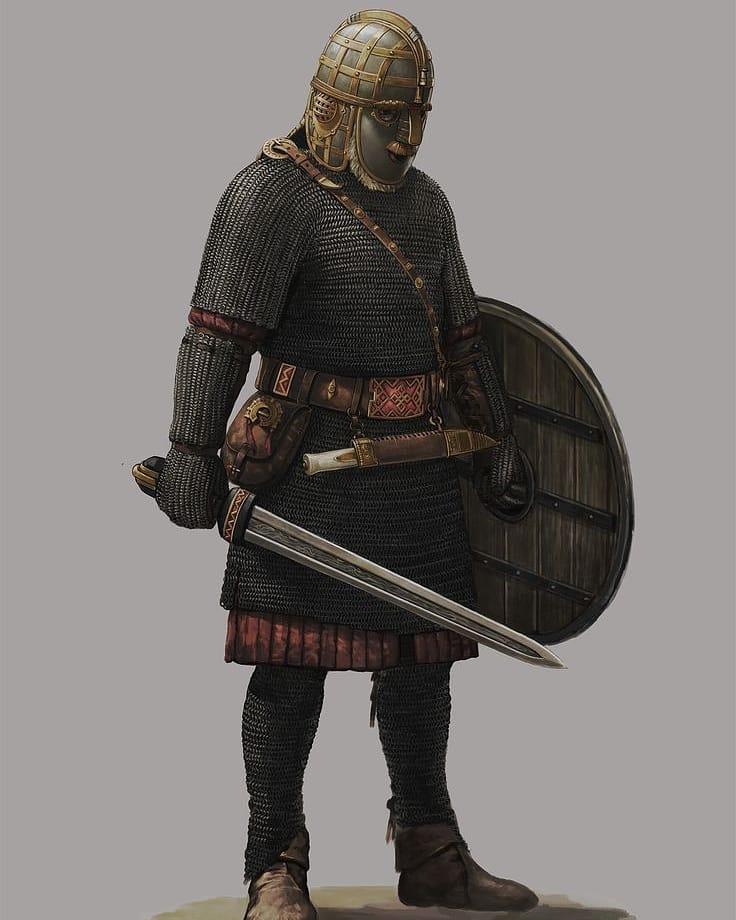 Знатный англосаксонский воин эпохи Венделя