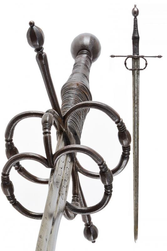Der großes anderthalb Schwert