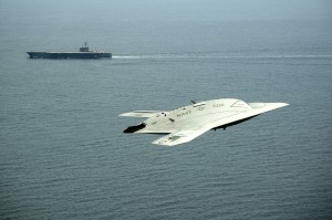 X-47-UCAS-GHWB-Carrier-Launch