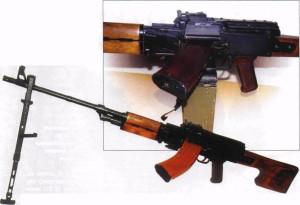 8-Пулемет ПУ-21, включена магазинная подача
