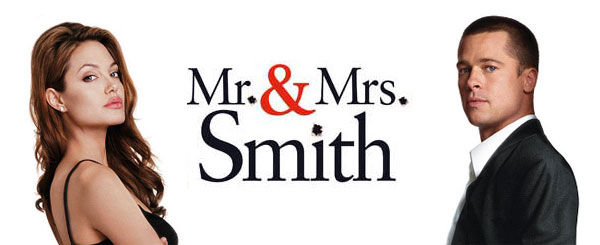 Mr and Mrs Smith Brad Pitt Angelina Jolie