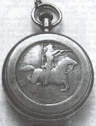 Наградные часы Русской императорской армии (кавалерия)