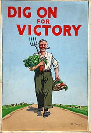 Продовольственные проблемы в Англии. Вторая мировая война.