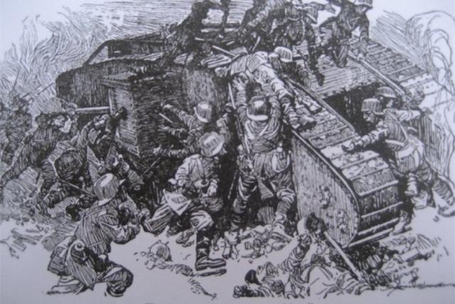 Запертые в танке Ричардсон, танка, экипаж, британских, войны, позиций, живых, итоге, удалось, экипажа, немцы, солдат, стороны, Экипаж, стали, торговал, попытался, позиции, немецкой, Перси