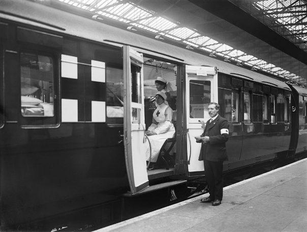 Железнодорожные госпитали Первой мировой