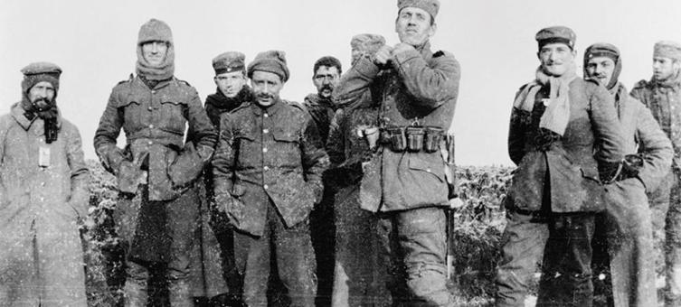 Перемирие, 1914 год.