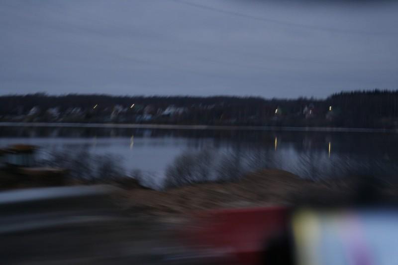 Волга, утренние сумерки