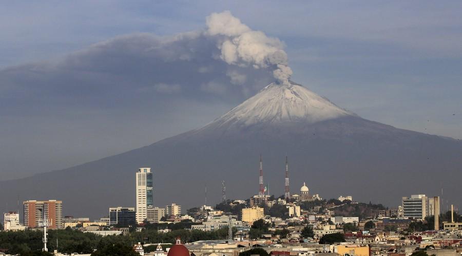 Volcán Popocatépetl MEXICO