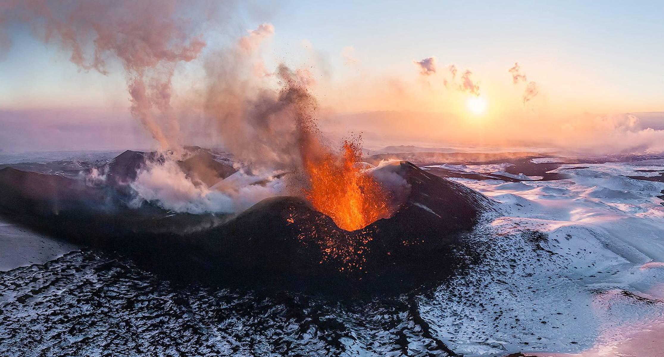 Plosky Tolbachik volcano