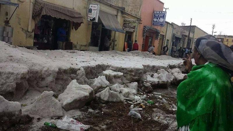 Eritrea-Snow