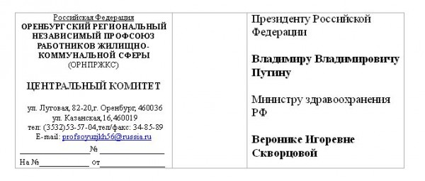 оренбург ЖКХ