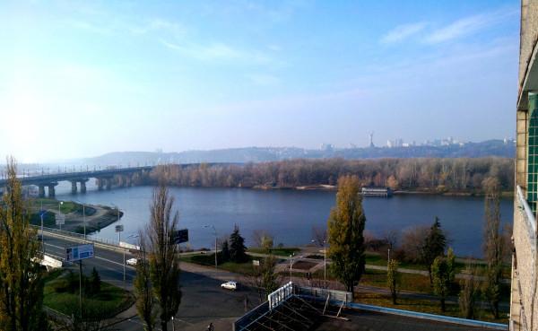 Киев из окна 1