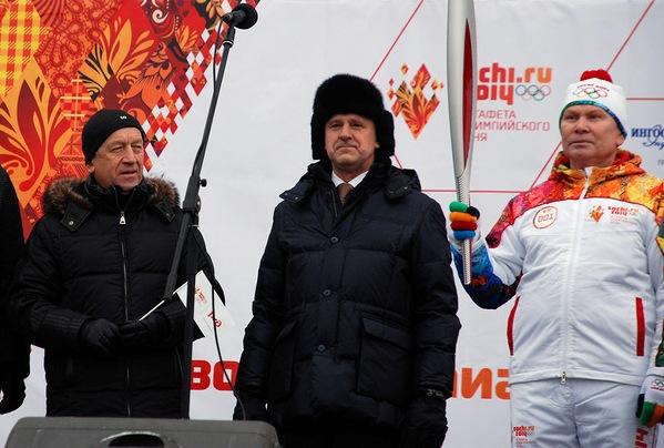 Волков и Питкевич на Олимп